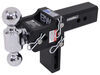 BWTS20037B - Fits 2-1/2 Inch Hitch B and W Adjustable Ball Mount
