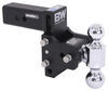 BWTS20037B - Two Balls B and W Adjustable Ball Mount