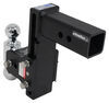 b and w trailer hitch ball mount drop - 7 inch rise class v 14500 lbs gtw bwts20040b