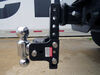 0  trailer hitch ball mount b and w adjustable two balls on a vehicle