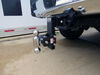0  trailer hitch ball mount b and w adjustable two balls b&w tow & stow 2-ball - 2-1/2 inch 7-1/2 drop/rise 14.5k black