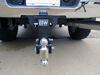 0  trailer hitch ball mount b and w adjustable drop - 7 inch rise bwts20040b