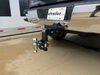 0  trailer hitch ball mount b and w two balls drop - 7 inch rise on a vehicle