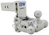 b and w ball mounts adjustable mount three balls b&w tow & stow 3-ball - 2.5 inch hitch 5 drop/4.5 rise 14.5k chrome