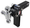 "B&W Tow & Stow 3-Ball Mount - 2-1/2"" Hitch - 7-1/2"" Drop/Rise - 14.5K - Black Class IV,14500 lbs GTW BWTS20049B"