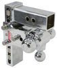 b and w trailer hitch ball mount adjustable three balls