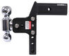 b and w trailer hitch ball mount three balls drop - 7 inch rise 7-1/2 bwts20067bmp