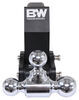 b and w trailer hitch ball mount drop - 7 inch rise 7-1/2 3500 lbs gtw 7500 14500 bwts20067bmp
