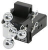 BWTS30048B - Three Balls B and W Adjustable Ball Mount