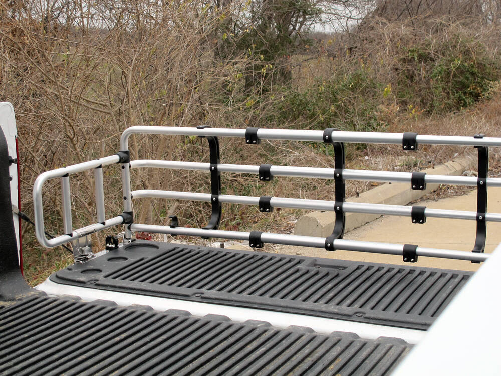 2011 Gmc Sierra Fold Down Truck Bed Extender Anodized Silver
