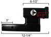 blue ox accessories and parts tow bar high-low adapter for bars - 2 inch hitches 4 rise/drop 6-1/2 long