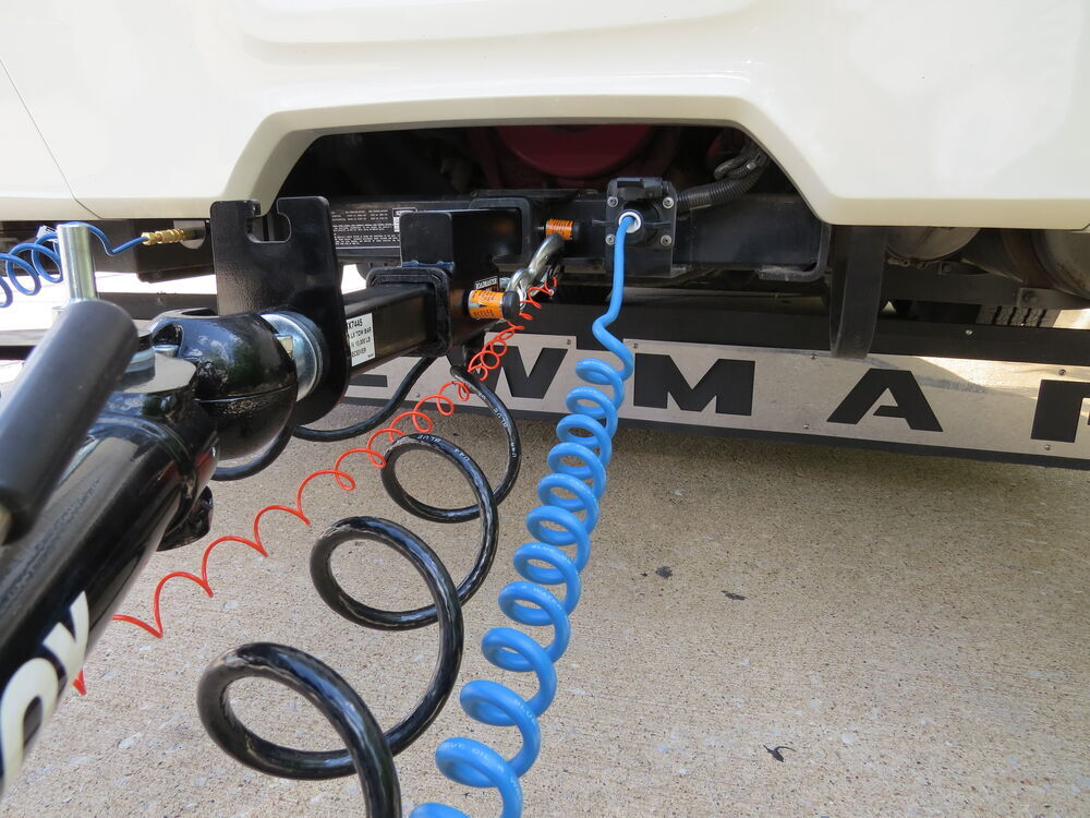 Out Of The Wiring Between Your Tow Vehicle And Camper Trailer