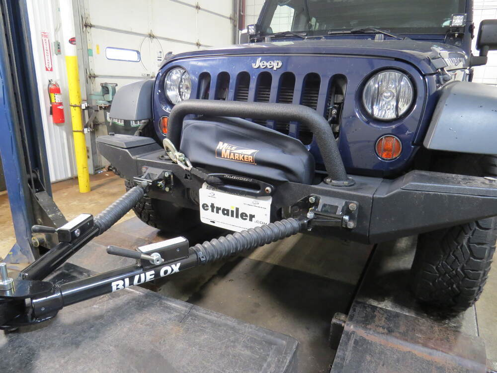 Accessories And Parts BX88301   Blue Ox To Rugged Ridge Bumper   Blue Ox On  2013