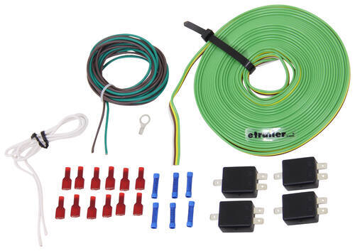 blue ox tow bar wiring kit 4 diodes blue ox tow bar wiring bx8848 rh etrailer com