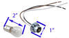 Blue Ox Tail Light Wiring Kit - Bulb and Socket Universal BX8869