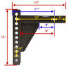 blue ox weight distribution wd with sway control allows backing up dimensions