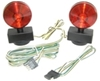 Magnetic Towing Light Kit, 20 ft. Long Cord Removable Tail Light Kit C-ATL20A