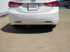 C11303 - Visible Cross Tube Curt Trailer Hitch on 2013 Hyundai Elantra