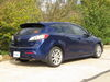 C11383 - Concealed Cross Tube Curt Trailer Hitch on 2012 Mazda 3