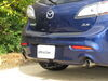 "Curt Trailer Hitch Receiver - Custom Fit - Class I - 1-1/4"" 1-1/4 Inch Hitch C11383 on 2012 Mazda 3"