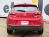 C11418 - Concealed Cross Tube Curt Custom Fit Hitch on 2017 Mazda CX 3