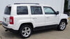 C13081 - Concealed Cross Tube Curt Custom Fit Hitch on 2014 Jeep Patriot