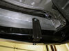 C13126 - Concealed Cross Tube Curt Custom Fit Hitch on 2013 Nissan Pathfinder