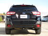 C13382 - Concealed Cross Tube Curt Custom Fit Hitch on 2018 Subaru Crosstrek
