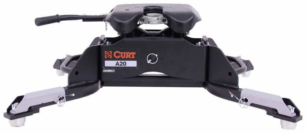 Curt A20 5th Wheel Trailer Hitch for Ram Towing Prep Package - Dual Jaw - 20,000 lbs Hitch Only C16044