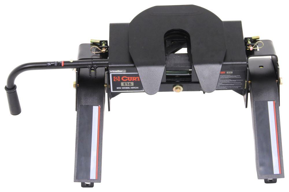 Curt E16 5th Wheel Trailer Hitch - Slide Bar Jaw - 16,000 lbs 4000 lbs TW C16115