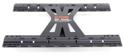 Curt X5 5th-Wheel Base Rail Adapter Plate for EZr Double Lock Gooseneck Trailer Hitch