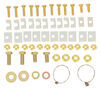 Fifth Wheel Installation Kit C16418-204 - Above the Bed - Curt