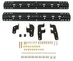 Curt Custom Fifth Wheel Installation Kit for Ram Truck - Carbide Finish