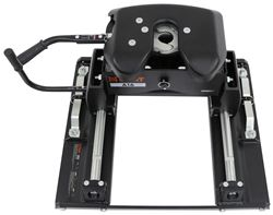 Curt A16 5th Wheel Trailer Hitch w/ Slider for Ford Towing Prep Package - Dual Jaw - 16,000 lbs