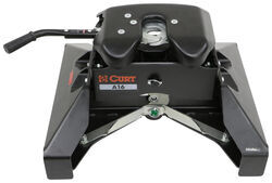Curt A16 5th Wheel Trailer Hitch for Nissan Titan XD Towing Prep Package - Dual Jaw - 16,000 lbs