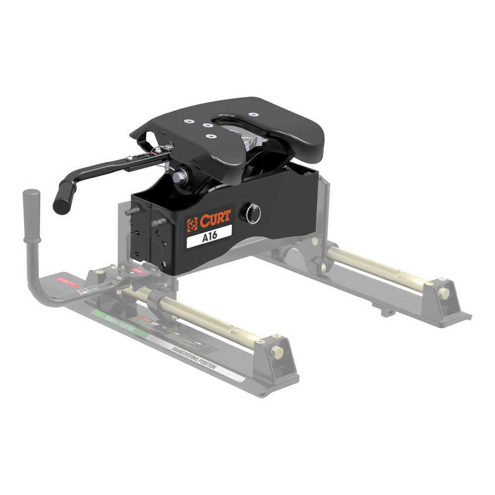 Fifth Wheel Trailer Hitch : Replacement head unit for curt a and q th wheel