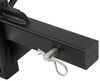 curt weight distribution hitch wd only system - round bar 10 000 lbs gtw 1 tw
