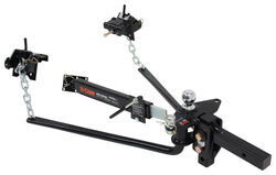 Curt MV Weight Distribution System w/ Friction Sway Control - Round Bar - 10K GTW, 1K TW
