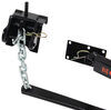 curt weight distribution hitch wd with sway control electric brake compatible mv system w/ friction - round bar 10k gtw 1k tw