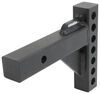 curt accessories and parts weight distribution hitch trunnion - 1/2 in drop round 2-1/2 adjustable shank 8 inch