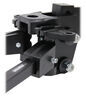 Curt Short-Arm Weight Distribution System with Shank - Trunnion Bar - 8,000 lbs GTW, 800 lbs TW 700 lbs C17331