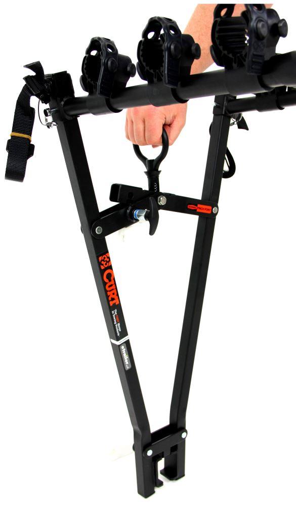 "2 Bike Hitch Rack >> Curt Clamp-On 3 Bike Rack for 2"" Ball Mounts - Towing Curt ..."