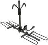 "Curt 2 Bike Platform Rack - 1-1/4"" and 2"" Hitches - Frame Mount - Tilting"