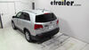 "19x60 Curt Cargo Carrier for 2"" Hitches - Aluminum - Folding - 500 lbs 60 Inch Long C18100 on 2013 Kia Sorento"