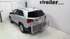 Hitch Cargo Carrier C18100 - Class III,Class IV - Curt on 2013 Kia Sorento
