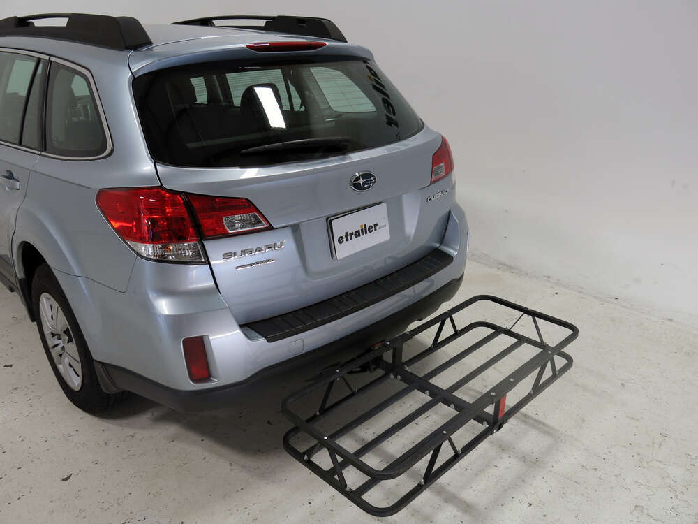 2013 subaru outback wagon 17x46 curt cargo carrier for 1 1 4 and 2 hitches steel 500 lbs. Black Bedroom Furniture Sets. Home Design Ideas