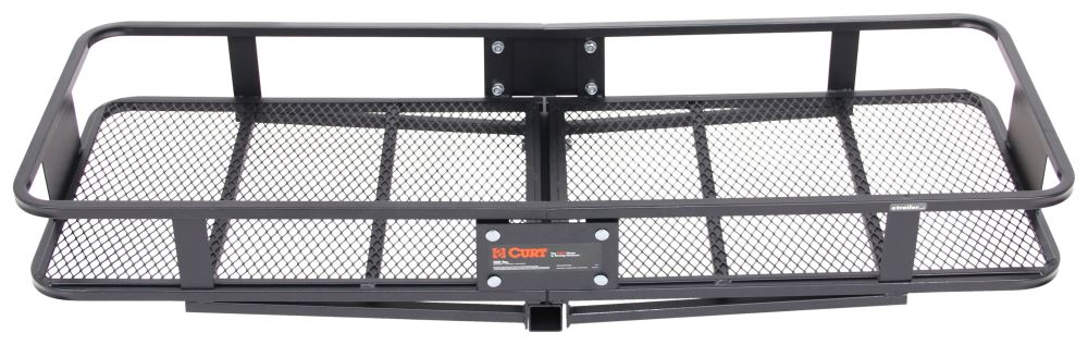 "20 x 59 Curt Cargo Carrier for 2"" Hitches - Steel - 500 lbs Fixed Carrier C18150"