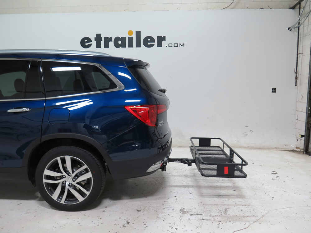 2016 honda pilot 20x60 curt cargo carrier for 2 hitches steel folding 500 lbs. Black Bedroom Furniture Sets. Home Design Ideas