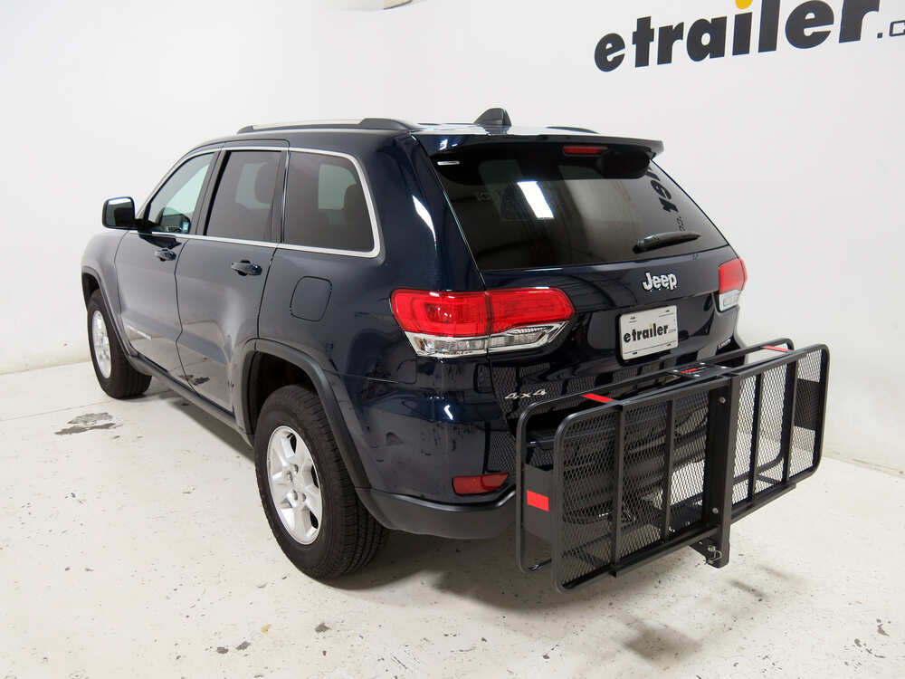 2016 jeep grand cherokee 20x60 curt cargo carrier for 2 hitches steel folding 500 lbs. Black Bedroom Furniture Sets. Home Design Ideas