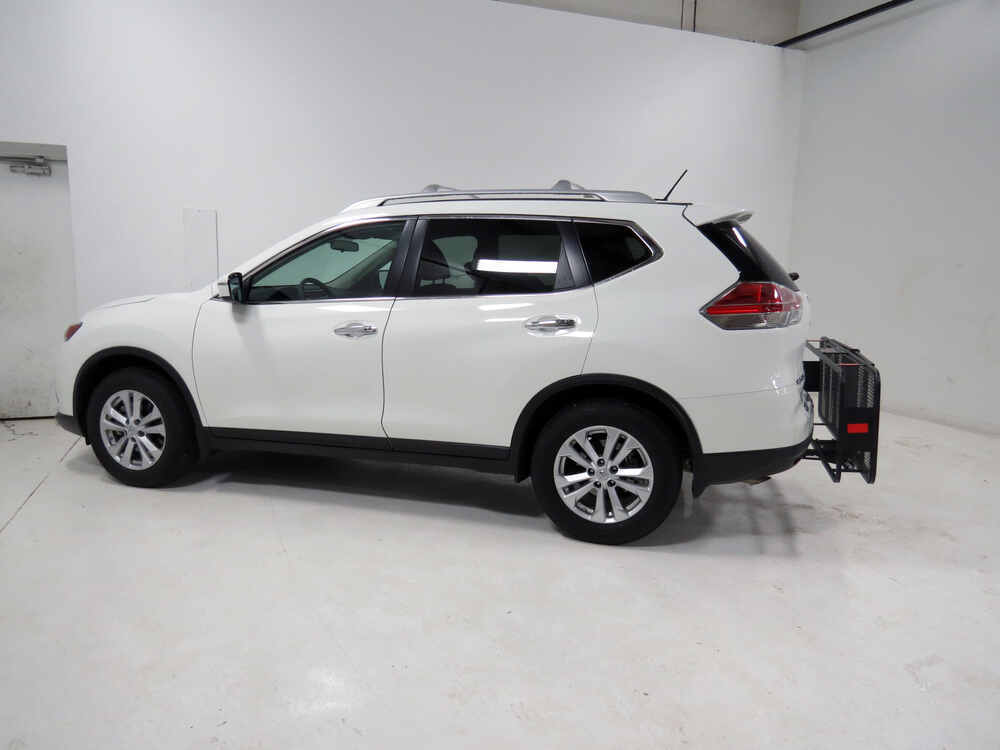 2013 nissan rogue 20x60 curt cargo carrier for 2 hitches steel folding 500 lbs. Black Bedroom Furniture Sets. Home Design Ideas